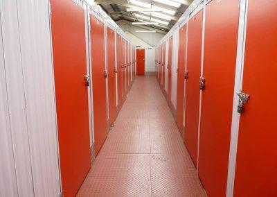 Secure sheltered storage